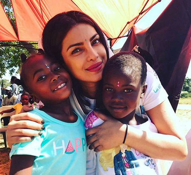 AWESOME Priyanka Chopra dances with the African kids!