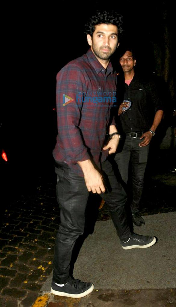Aditya Roy Kapoor snapped at The Korner House