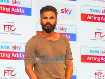 Ajay Devgn and Suniel Shetty launch 'Tata Sky Acting Adda'