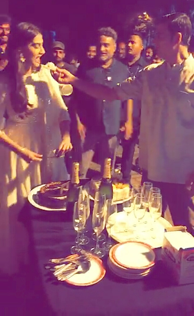Akshay Kumar and Sonam Kapoor celebrate 1