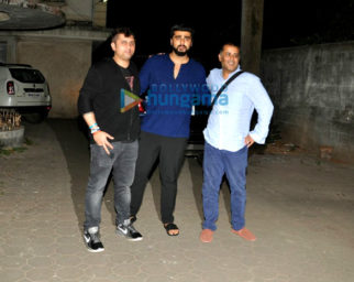 Arjun Kapoor and Aditya Roy Kapoor snapped at Mohit Suri's house