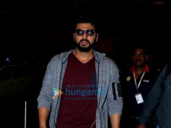 Arjun Kapoor and Shraddha Kapoor depart for Dubai