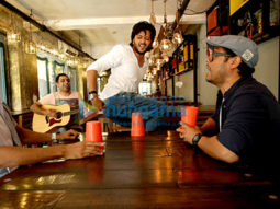 On The Sets Of The Movie Bank Chor