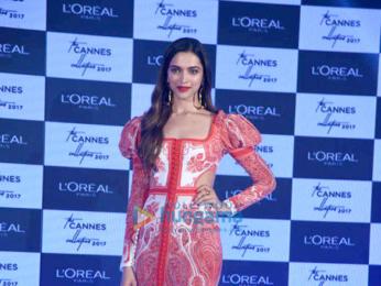 Deepika Padukone unveils L'Oréal Paris Cannes collection 2017