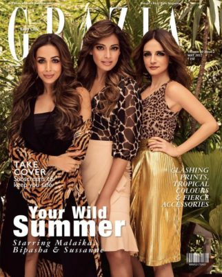 Malaika Arora, Bipasha Basu, Sussanne Khan On the covers of Grazia