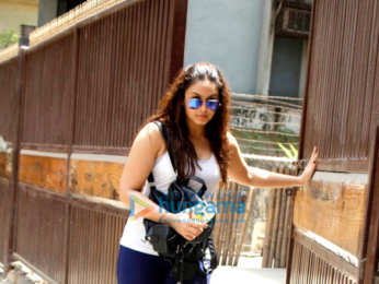 Huma Qureshi snapped post yoga session