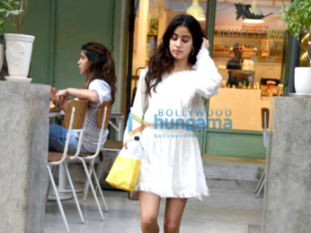 Jhanvi Kapoor snapped at The Kitchen Garden
