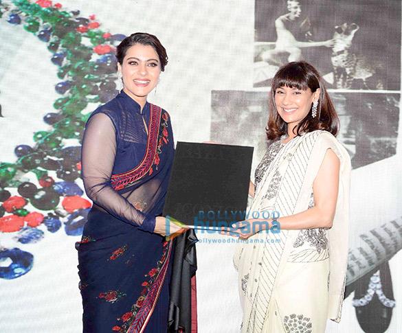 Kajol launches 'The Iconic Book' in Delhi