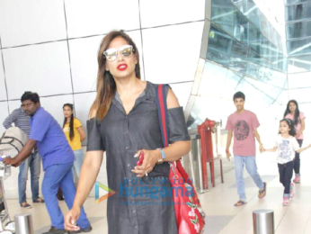 Karan Singh Grover, Bipasha Basu return from Goa post celebrating one year of marriage