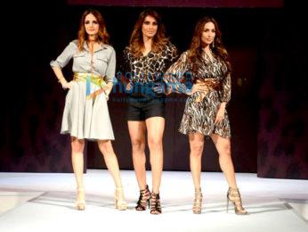 Malaika Arora, Bipasha Basu and Sussane Khan snapped at the Magnum event