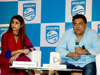 Ram Kapoor and Gautami Kapoor announced as brand ambassadors for Philips Healthcare