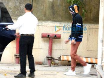 Ranbir Kapoor snapped post technical rehearsals for Ayan Mukherji's Next movie