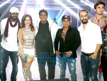 Rimesh Raja at the shooting of his first music video