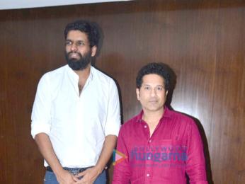 Sachin Tendulkar snapped promoting the film 'Sachin - A Billion Dreams'