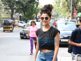 Saiyami Kher snapped in Bandra