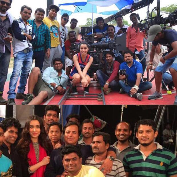 Shraddha Kapoor thanks the Half Girlfriend camera crew in a heartfelt post features