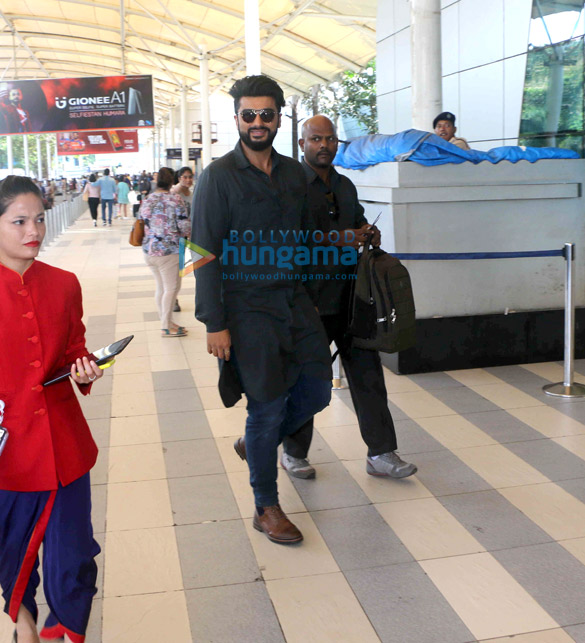 Shraddha Kapoor and Arjun Kapoor snapped at airport as they depart to promote Half Girlfriend