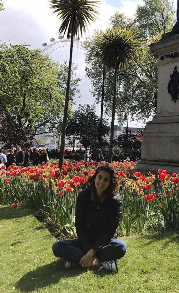 TRAVEL DIARIES Taapsee Pannu explores London and it is nothing like you know about Queen City-2