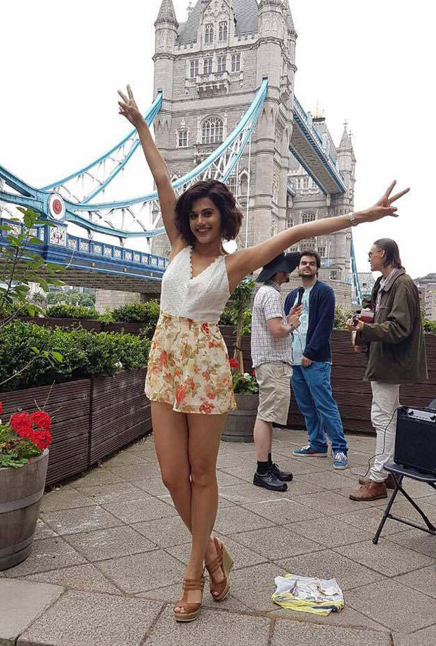 TRAVEL DIARIES Taapsee Pannu explores London and it is nothing like you know about Queen City-6