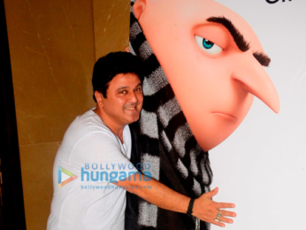 Ali Asgar is the Hindi voiceover for Gru in Despicable Me 3