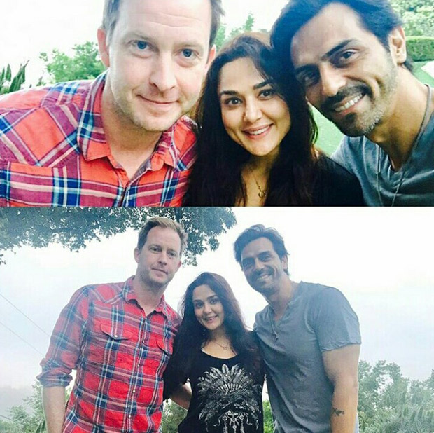 Check out Arjun Rampal catches up with friend Preity Zinta and her husband Gene Goodenough