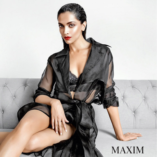 Hot Deepika Padukone Is A Smokestorm In Sexy Black Lingerie On
