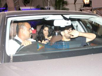 Harshvardhan Kapoor, Rhea Chakraborty and Sara Ali Khan snapped at Saif Ali Khan and Kareena Kapoor Khan's house