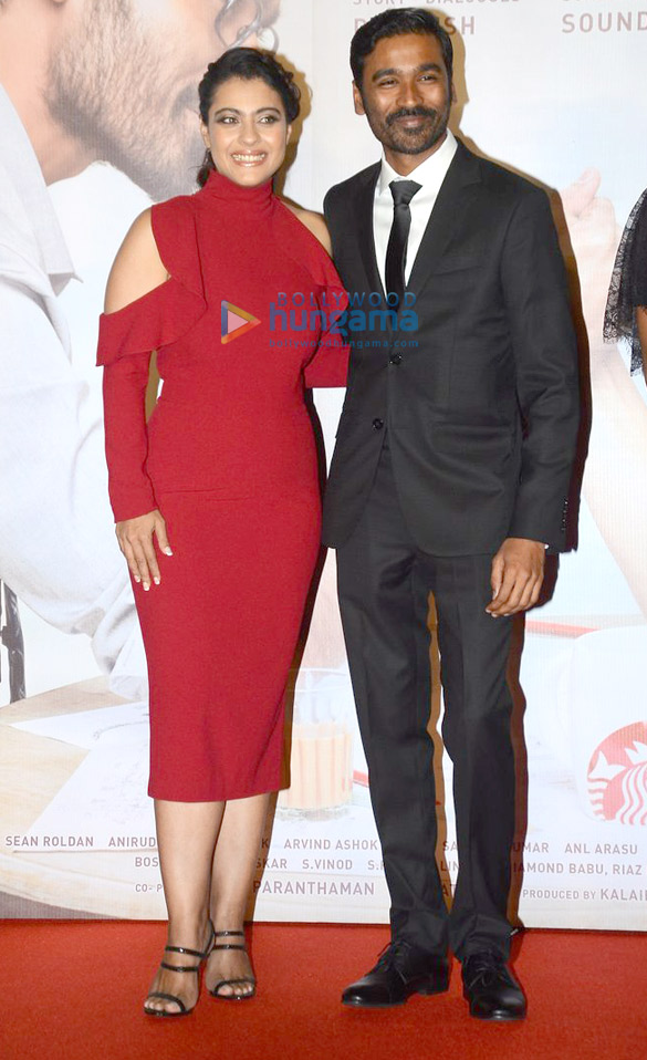 Kajol and Dhanush grace the trailer and music of launch of their