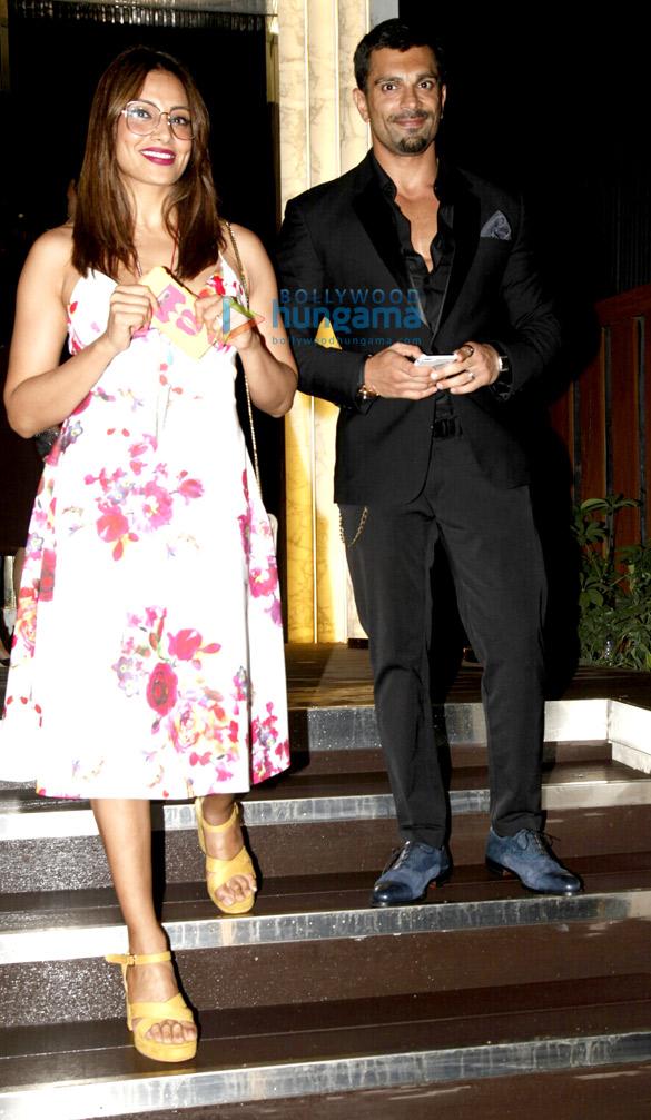 Karan Singh Grover and Bipasha snapped post dinner at Arth Lounge