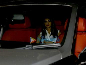 Priyanka Chopra & family snapped at the Hakkasan