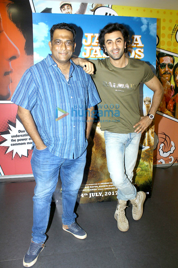 Ranbir Kapoor and Anurag Basu promote Jagga Jasoos