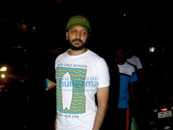 Riteish Deshmukh snapped in Bandra