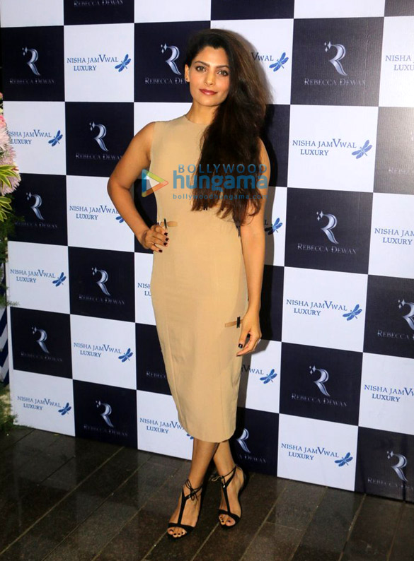 Saiyami Kher and Daisy Shah grace Rebecca Dewan's new collection preview in Bandra