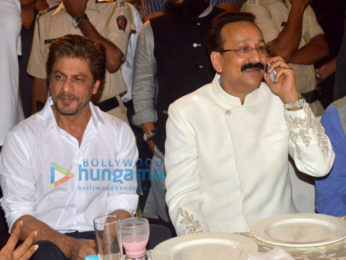 Shah Rukh Khan and Salman Khan grace Baba Siddique's Iftaar party