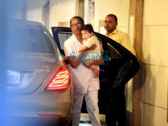 Taimur Ali Khan snapped at home
