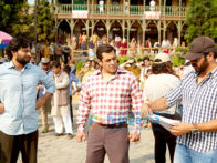 On The Sets Of The Movie Tubelight
