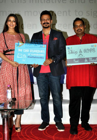 Vivek Oberoi and Sonali Bendre grace the 'Food The Future Now' event in Mumbai