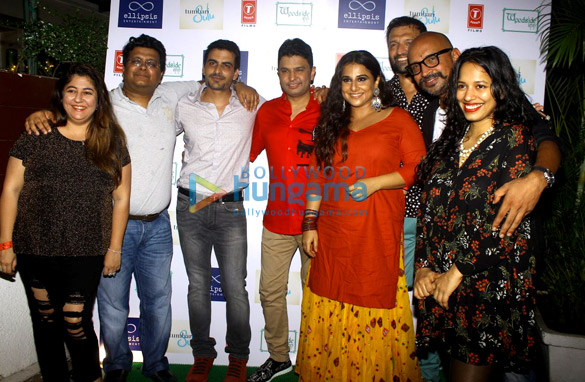 Wrap up bash of 'Tumhari Sulu' with the cast and crew
