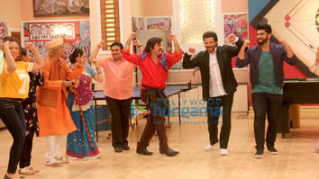 Anil Kapoor and Arjun Kapoor promote 'Mubarakan' on the show Taarak Mehta Ka Ooltah Chashmah