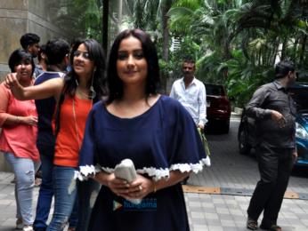 Nawazuddin Siddiqui and Divya Dutta grace the first look launch of 'Babumoshai Bandookbaaz'