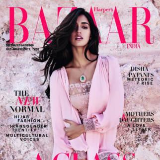 Disha Patani On The Cover Of Harper's Bazaar
