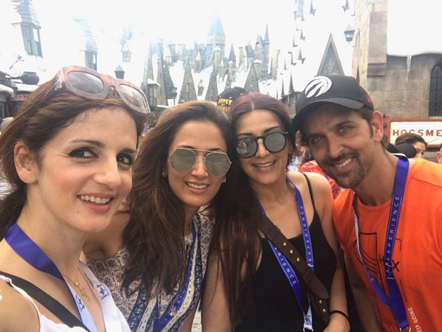 Hrithik Roshan and Sussanne Roshan pose together for this photography shared by Sonali Bendre and this is what it is about-2
