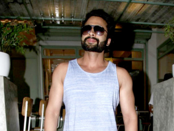 Jackky Bhagnani and Gauahar Khan snapped at The Kitchen Garden