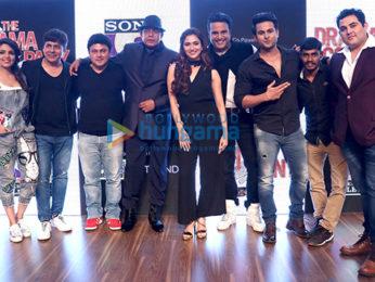 Mithun Chakraborty, Krushna Abhishek attend the press conference of their show 'The Drama Company'