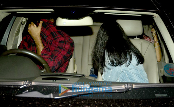 Navya Naveli snapped post her dinner with a close friend