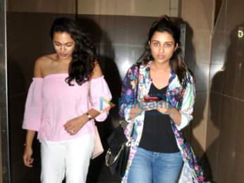 Parineeti Chopra snapped post a movie screening at Juhu PVR
