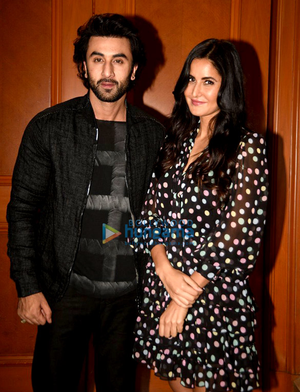 The awesome twosome Ranbir Kapoor and Katrina Kaif were snapped at the film promotions of 'Jagga Jasoos'