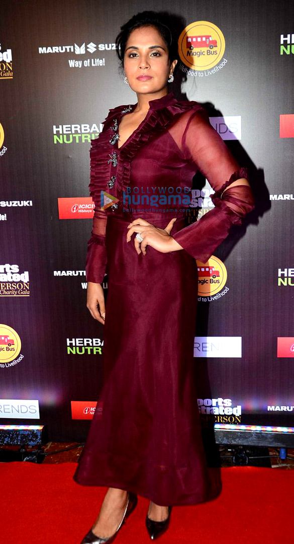 Richa Chadda and Taapsee Pannu grace the 'Sports Illustrated Sportsperson Of The Year Charity Gala' night