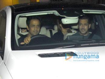 Salman Khan, Sonakshi Sinha and Iulia Vantur snapped post party at close friends place in Bandra
