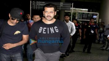 Salman Khan arrives from Morocco post 'Tiger Zinda Hai' shoot